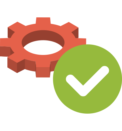 Valid Options vector icon
